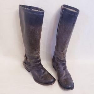 Freebird by Steven Leather Distressed Irish Boots